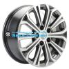 Khomen Wheels 6,5x16/5x114,3 ET41 D67,1 KHW1610 (Optima) Gray-FP
