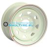 Off-Road Wheels 7x15/5x139,7 ET25 D98,5 ВАЗ Нива белый (треуг.)
