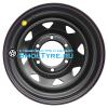 Off-Road Wheels 8x15/6x139,7 ET-5 D110 Тойота Ниссан черный (треуг. мелкий)