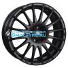 OZ 7,5x17/5x112 ET50 D75 Superturismo GT Matt Black + Red Lettering