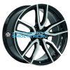 Rial 6,5x16/5x108 ET50 D63,4 Torino Diamant black front polished