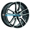 Rial 6,5x16/5x112 ET50 D70,1 Torino Diamant black front polished