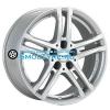 Rial 6,5x16/5x112 ET53 D66,5 Bavaro Polar Silver